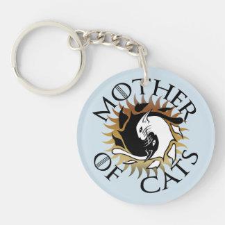 Porte-clefs Mère de porte - clé de chats