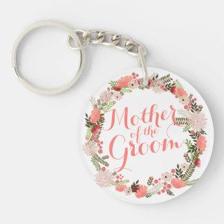Porte-clefs Mère du porte - clé de mariage de ressort de marié