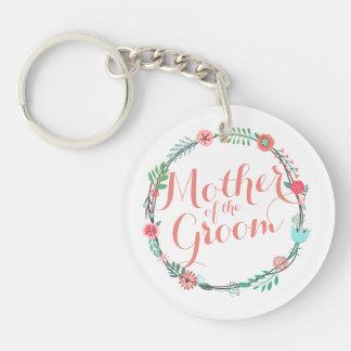 Porte-clefs Mère du porte - clé élégant de mariage de marié
