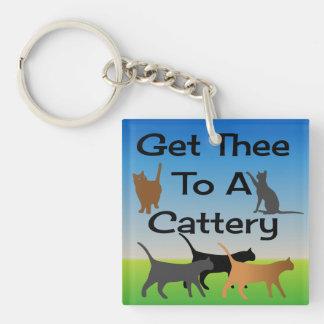 Porte-clefs Obtenez Thee à un porte - clé de pension pour