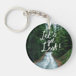 Porte-clefs Obtenons perdus ! Citez la forêt verte de