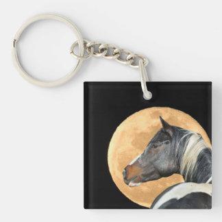 Porte-clefs Peignez le cheval avec le porte - clé de pleine