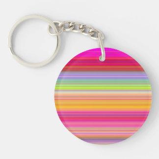 Porte-clefs Personnalisez - l'arrière - plan multicolore de