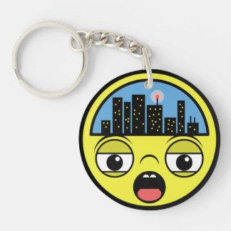Porte-clefs Petite ville somnolente