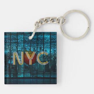 Porte-clefs PIÈCE EN T New York City