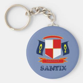 Porte-clefs plaque SANTIX VF