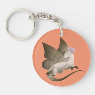 Porte-clefs Porte - clé 2 de dragon de papillon