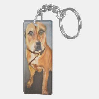 Porte-clefs Porte - clé de bull-terrier du Staffordshire de