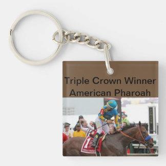 Porte-clefs Porte - clé de gagnant de Triple Crown de Pharoah