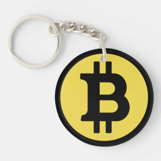 Porte-clefs Porte - clé de logo de Bitcoin