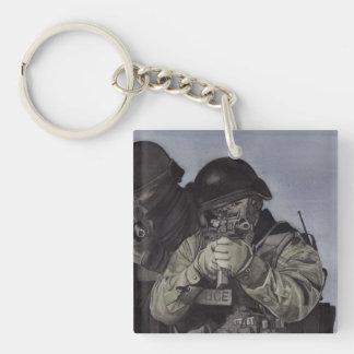 Porte-clefs Porte - clé d'équipe de Police/SWAT
