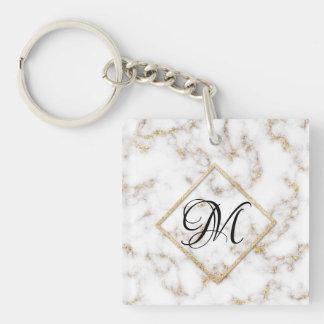 Porte-clefs Porte - clé élégant moderne de monogramme de