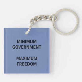 Porte-clefs Porte - clé libertaire de slogan de partie