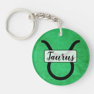 Porte-clefs Porte - clé personnalisé de Taureau d'horoscope