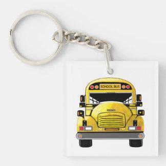 Porte-clefs Porte - clé personnalisé par autobus scolaire