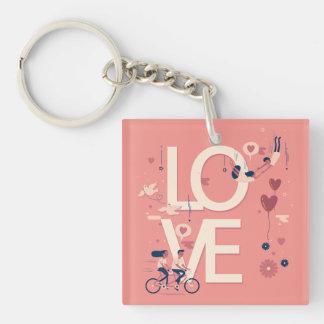 Porte-clefs Porte - clé simple pourtant élégant de couples de
