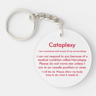 Porte-clefs Porte - clé vigilant médical de narcolepsie et de