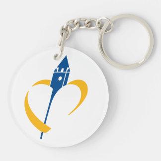 Porte-clefs porte clef acrylique nord pas de calais