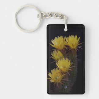Porte-clefs Quintuple de fleurs de cactus