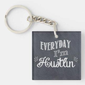 Porte-clefs Quotidien je suis porte - clé de tableau de