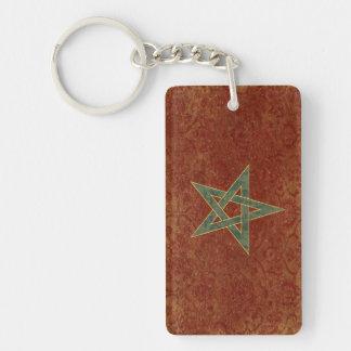 Porte-clefs Souvenir de porte - clé de drapeau du Maroc