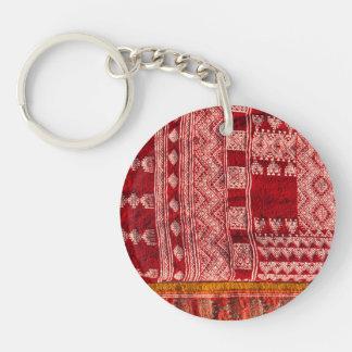 Porte-clefs Tapis rouge au marché
