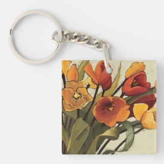 Porte-clefs Temps de tulipe