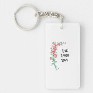 Porte-clefs Vivent le porte - clé d'amour de rire