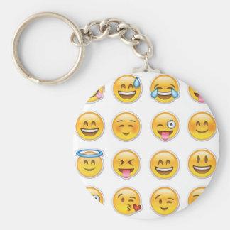 Porte-clés 12 Emoji