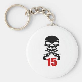 Porte-clés 15 conceptions d'anniversaire