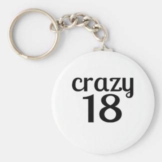 Porte-clés 18 conceptions folles d'anniversaire