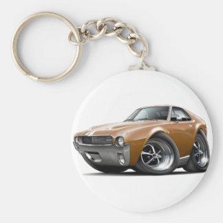 Porte-clés 1968-69 voiture Brown-Blanche d'AMX