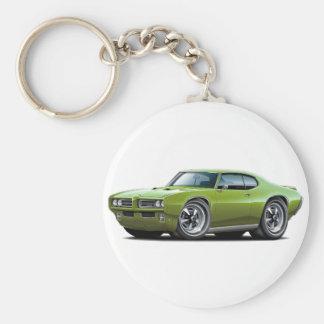 Porte-clés 1968-69 voiture verte de GTO