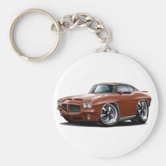 Porte-clés 1971-72 voiture en bronze de GTO