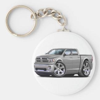 Porte-clés 2010-12 double camion argenté de RAM
