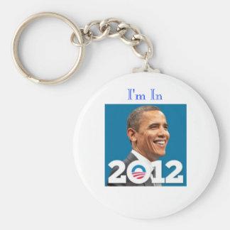 Porte-clés 2012 je suis Dans-Obama
