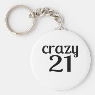 Porte-clés 21 conceptions folles d'anniversaire
