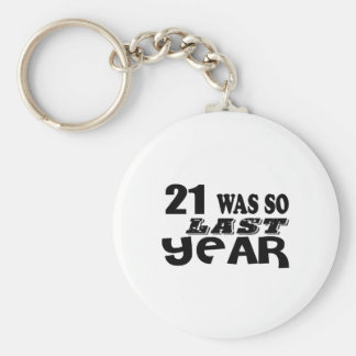 Porte-clés 21 étaient ainsi ainsi l'année dernière les