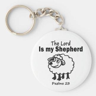 Porte-clés 23ème Porte - clé de psaume
