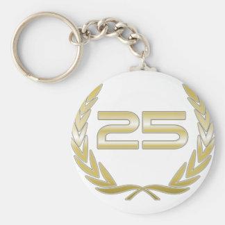 Porte-clés 25 ans
