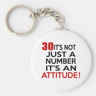 Porte-clés 30 ce n'est pas simplement un nombre que c'est une