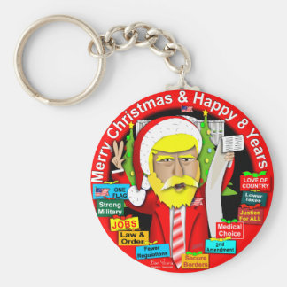 Porte-clés 8 ans de Joyeux Noël