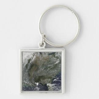 Porte-clés A soleil-comme le motif des nuages à haute