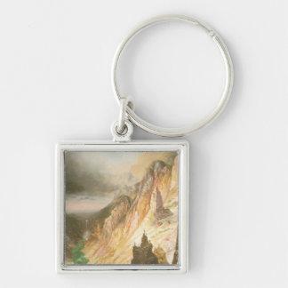 Porte-clés Abaissez les automnes, canyon grand du Yellowstone