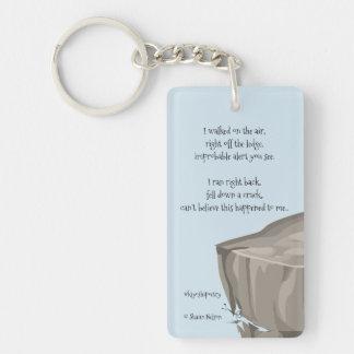 Porte-clés Accident heureux