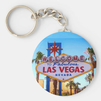 Porte-clés Accueil au porte - clé de signe de Las Vegas