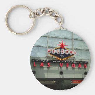 Porte-clés Accueillez au porte - clé de signe d'aéroport de