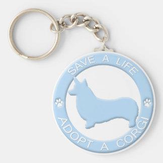 Porte-clés Adoptez un porte - clé de corgi (le Pembroke)