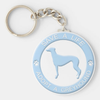 Porte-clés Adoptez un porte - clé de lévrier