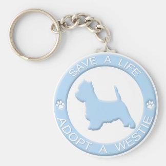 Porte-clés Adoptez un porte - clé de Westie